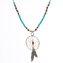Cheyenne Large Dream Catcher Necklace