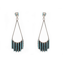 Zuni Needle-Point Earrings
