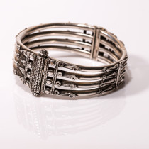 Intricate Hinged Bracelet