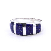 Lapis Bar Ring