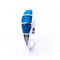 Delicate Mosaic Turquoise Ring
